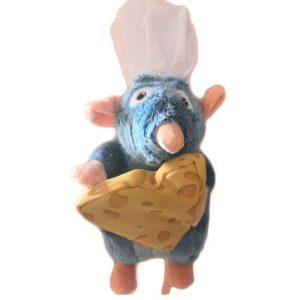 Peluche Ratatouille avec un morceau de gruyère Peluche Ratatouille Peluche Disney Matériaux: Coton